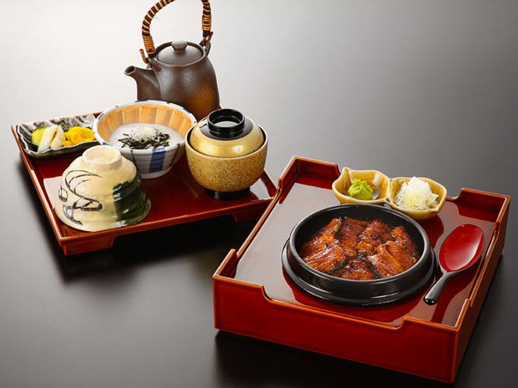 「うなぎとろろ茶漬け」5900円(税別)