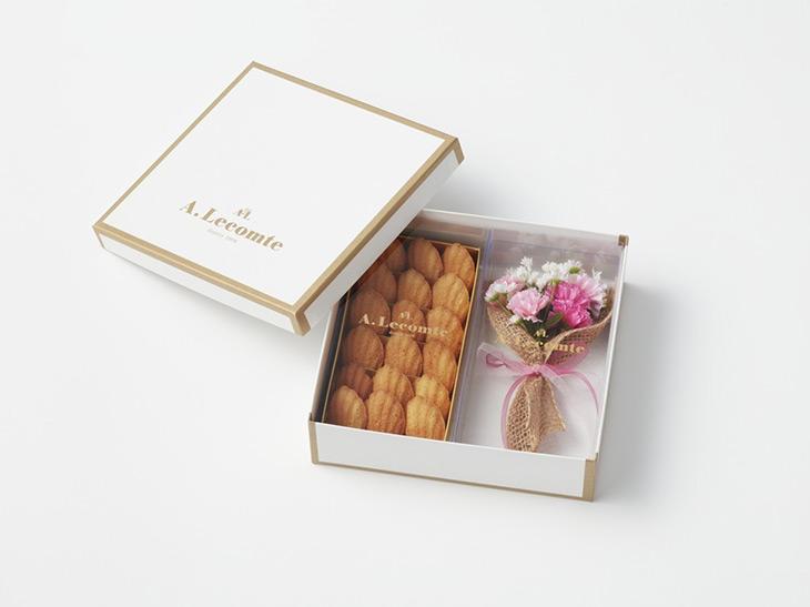 「ミニブーケ・プチマドレーヌ詰合せ」2860円(税込)