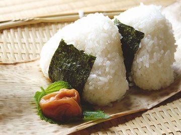 おにぎりは日本を代表する食遺産