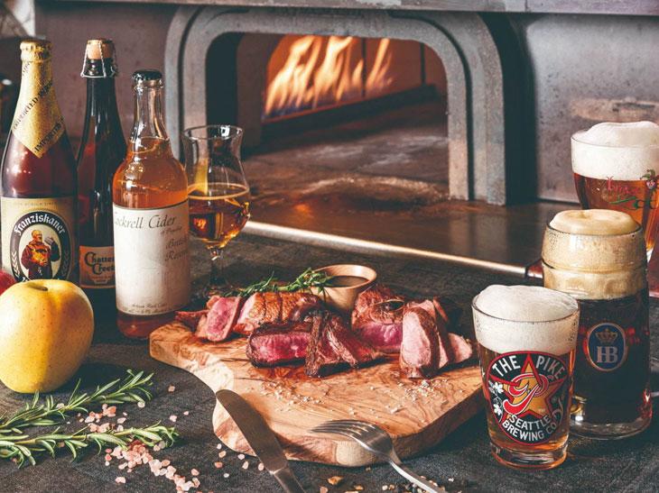 高熱石窯で焼く肉料理とクラフトビールの店『ブラウアターフェル』が竹芝にOPEN予定
