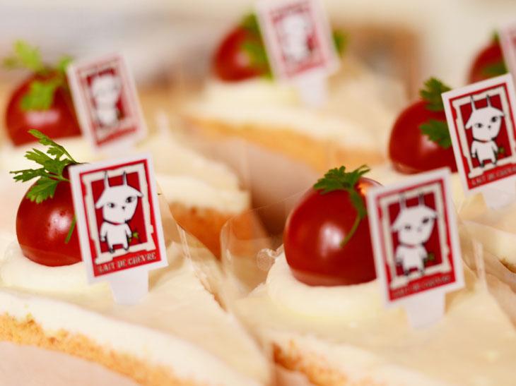 日本初のヤギミルク専門の洋菓子店が作る「トマト&バジルケーキ」が美味しい!