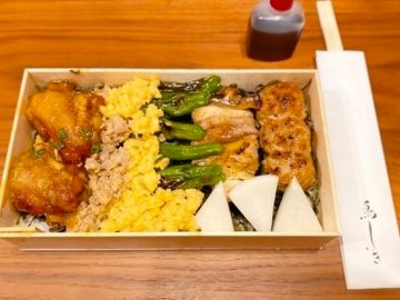 日本一予約が取れない焼鳥店『鳥しき』が期間限定でお持ち帰り弁当を販売中!