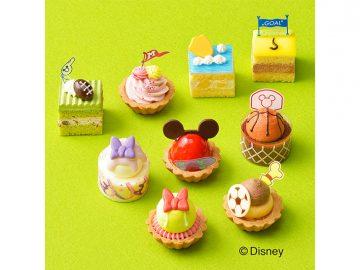 『銀座コージーコーナー』が発売したディズニー人気キャラの「プチケーキ詰め合わせ」が可愛すぎる!