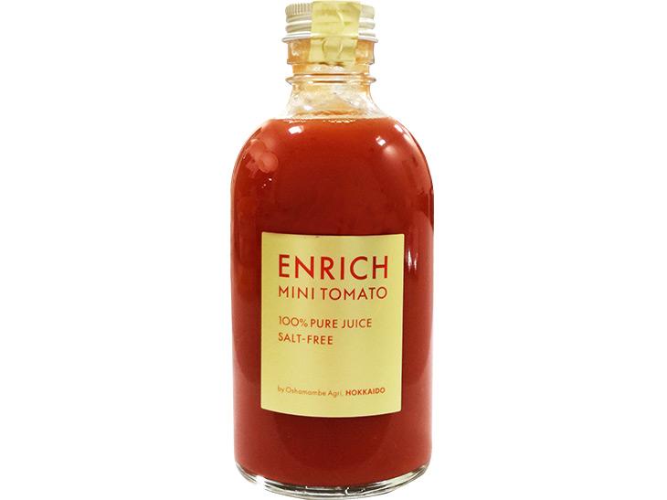 約50個ものトマトを使った「無添加トマトジュース」も人気