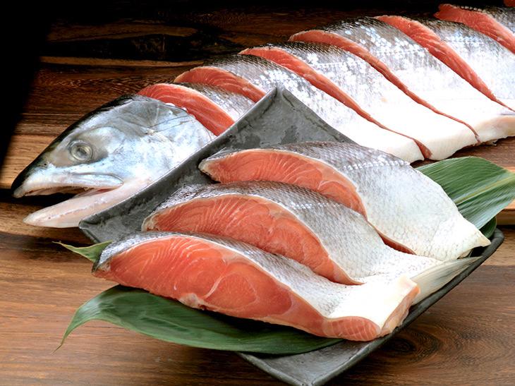 全国に流通することが稀な「時鮭」を味わう好機