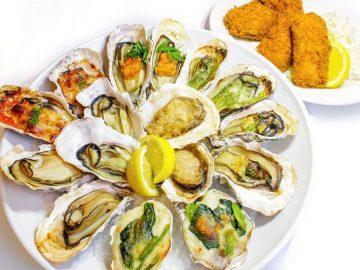 都内の「オイスターバー」で、バラエティ豊かな牡蠣メニューをテイクアウトできる!