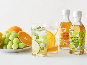 夏に飲みたい! 爽やかなフルーツビネガーが『Afternoon Tea』に登場