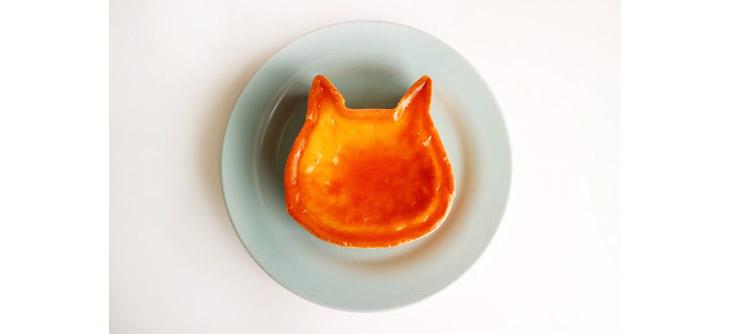 「ねこねこチーズケーキ」(11cm)。1,800円(税抜)