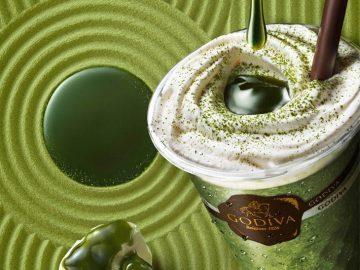 GODIVA史上最高濃度! 宇治抹茶とホワイトチョコが薫る「ショコリキサー 極上 宇治抹茶」が登場
