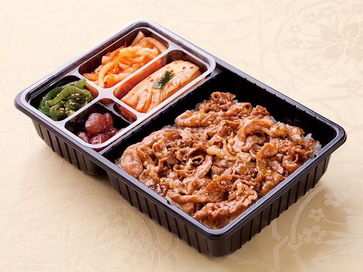 第10位|『叙々苑』の「牛薄切弁当」1個2100円