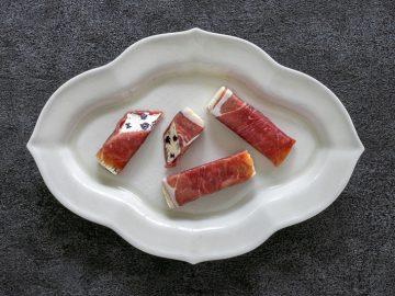 おつまみ最前線! 新感覚バター「カノーブル・グルマン」のプロシュット巻きが絶品