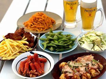 夏はやっぱりビアガーデン! 京阪シティモールにソーシャルディスタンス型の「天満橋ビアガーデン 祭」が誕生