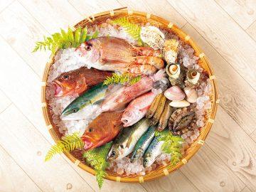 週末は海の幸BBQ! 城崎温泉の「おけしょう鮮魚」が旬の鮮魚の取り寄せ便を開始