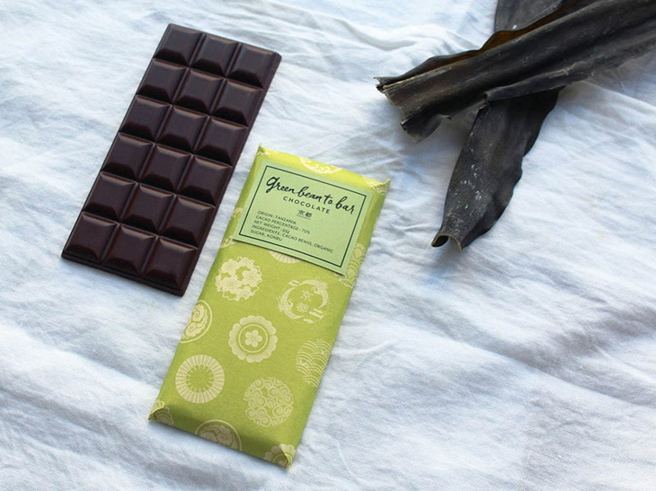 green bean to bar CHOCOLATE