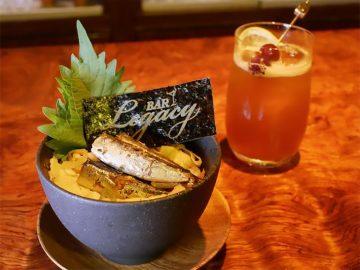 渋谷の人気バーでしか味わえない絶品「オイルサーディン丼」を食べてきた