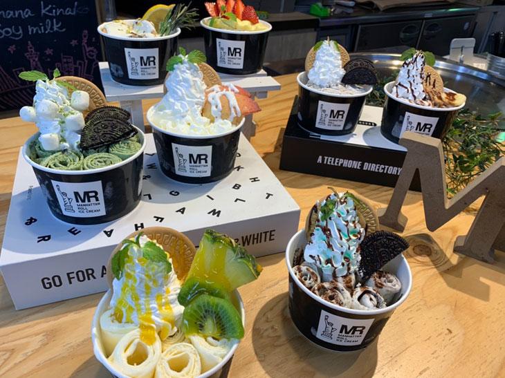 ここだけの限定味も! 『マンハッタンロールアイスクリーム』が有明ガーデンにオープン