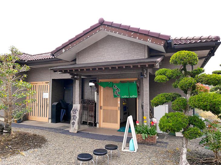平屋の日本家屋で風情があります
