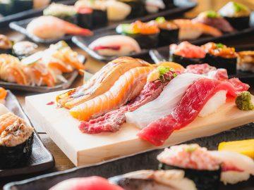 20cmの大ネタ寿司が秋葉原に登場! SNSで話題の寿司食べ放題居酒屋の2号店がオープン