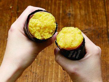 おうちで簡単に焼きいもが作れる「黒いサンホイル」って何だ!?