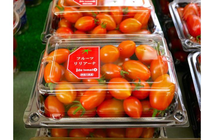 井出さん一押しの珍しい品種「フルーツリリアーナ」