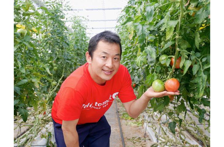 『井出トマト農園』代表の井出寿利さん