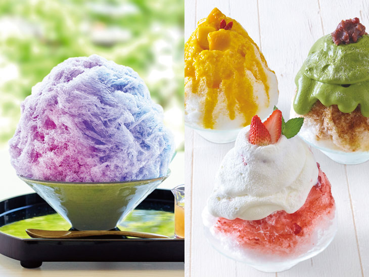 味変&色変が楽しい! 『アイザ鎌倉』に和洋10種のかき氷が登場!