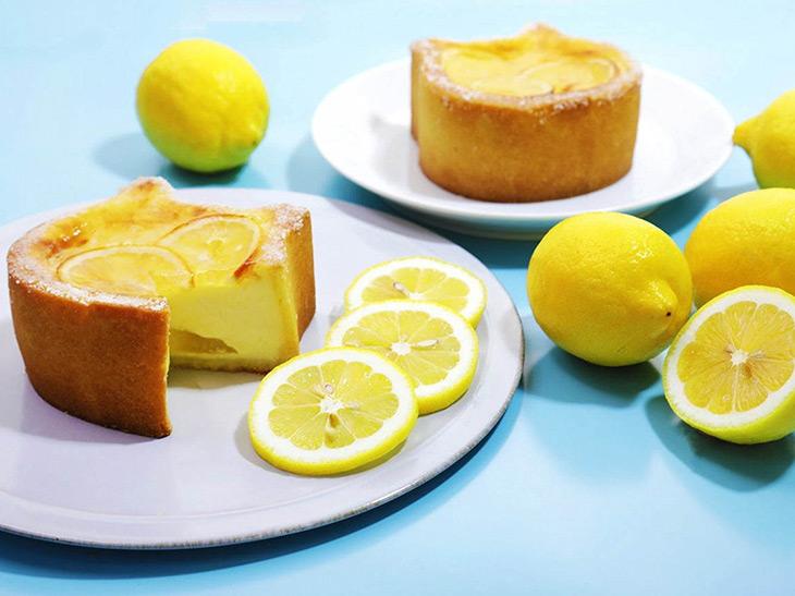 可愛すぎて話題の「ねこねこチーズケーキ」に瀬戸内レモンを使った夏限定ケーキが登場