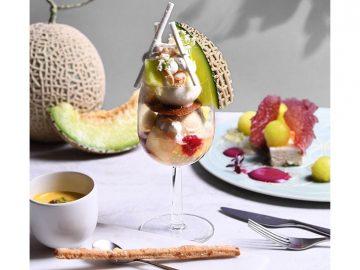 フルーツのコース料理専門店『フルーツサロン』が作るメロン尽くしメニューとは?