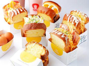 韓国NO.1フレッシュジュースブランド『JUICY』からスクランブルエッグトーストが登場!