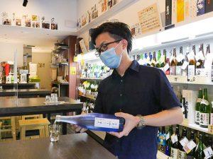 御茶ノ水と浜松町に店舗を構える日本酒専門店『名酒センター』の取締役を務める今正光(こん・まさみつ)さん