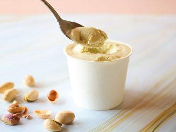 南仏生まれのグロサリー『メゾンブレモンド1830』で断トツ人気の「ピスタチオスプレッド」が超濃厚なアイスに変身!
