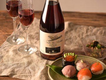 『久世福商店』のお寿司専用スパークリングワイン「スシ&バブル」が美味しすぎる!