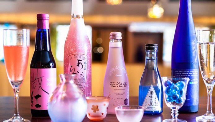 お店では約50種類、常時約20種類以上の日本酒を用意している