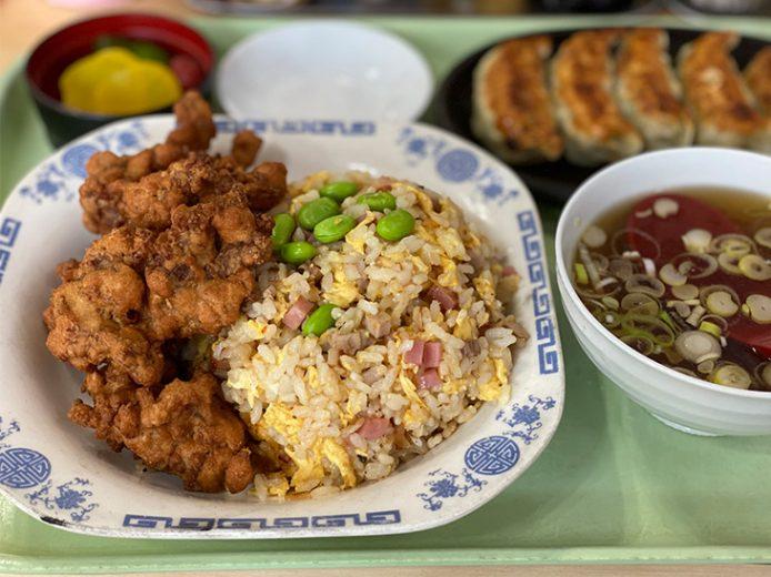 新高円寺の人気町中華『タカノ』で名物「唐揚げ付きチャーハン」を食べてきた!