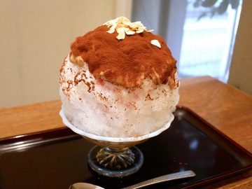 アメリカン・サンドイッチがかき氷に!? 『浅草浪花家』の超ヘビー級「ピーナッツバターかき氷」を食べてきた
