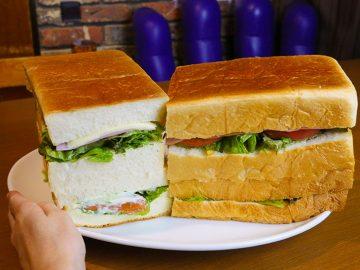 重量約2kg!? 怪物級のデカ盛りサンドイッチを『ミスター・デンジャー』で食べてきた