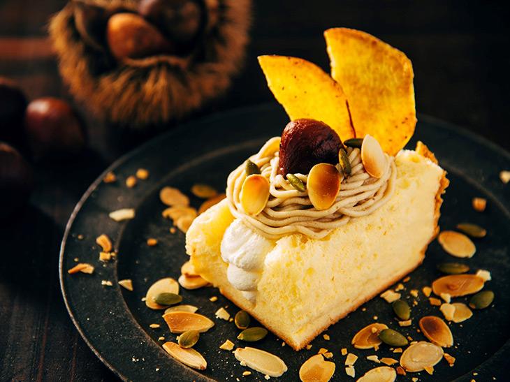さつまいも シフォン ケーキ