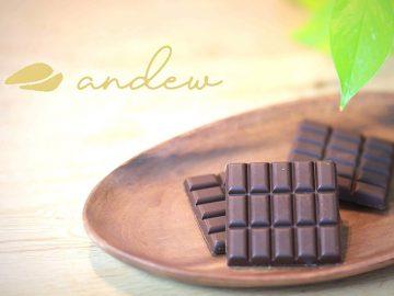 ダイエット中も罪悪感なし! 世界初の完全食チョコレート「andew」がスゴい!