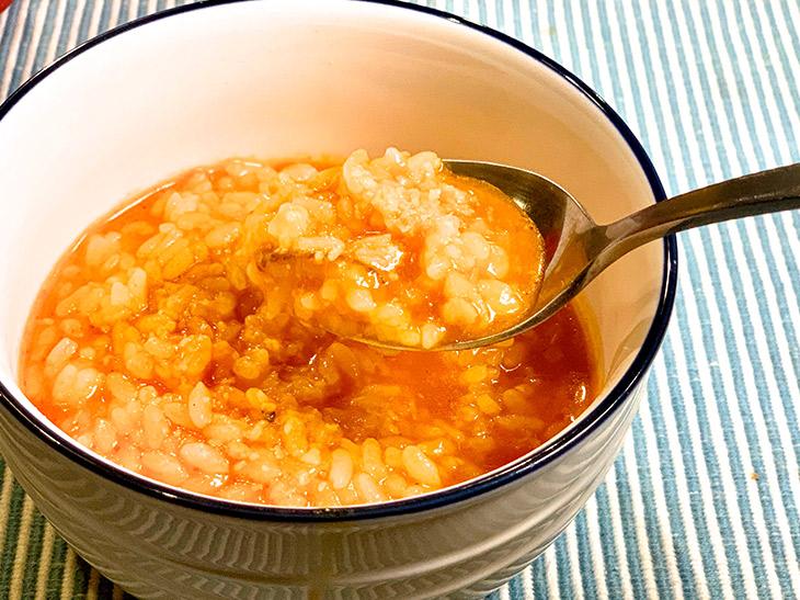 〆にご飯やパスタを入れて、最後のスープまで堪能!