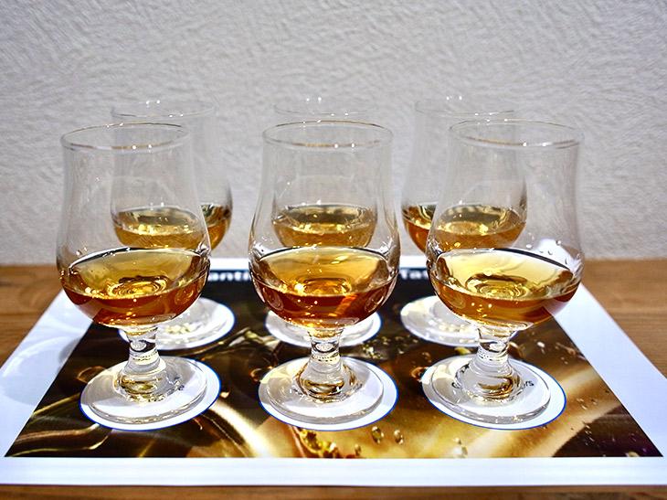 試飲してみて、それぞれの個性あふれる美味しさを実感!