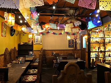 メキシコ料理 ドンブランコ 店内