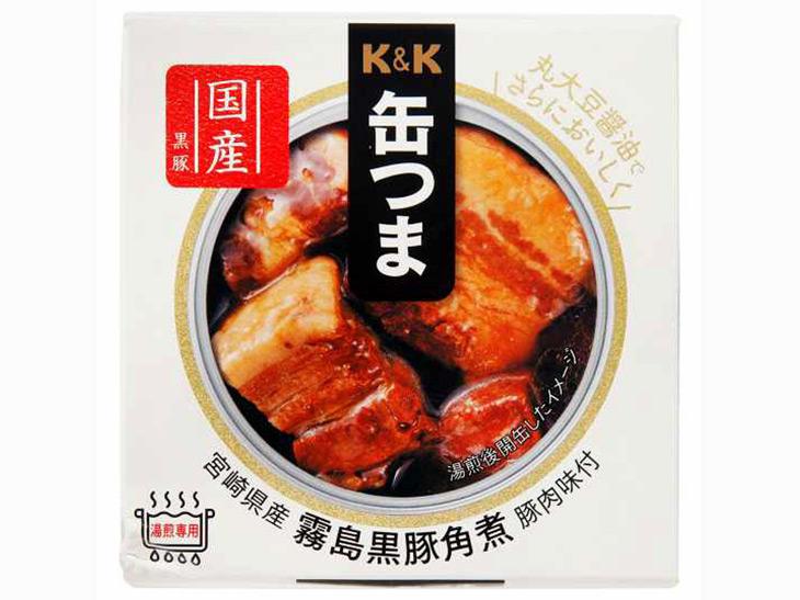 3位:「缶つま 宮崎県産霧島黒豚角煮」