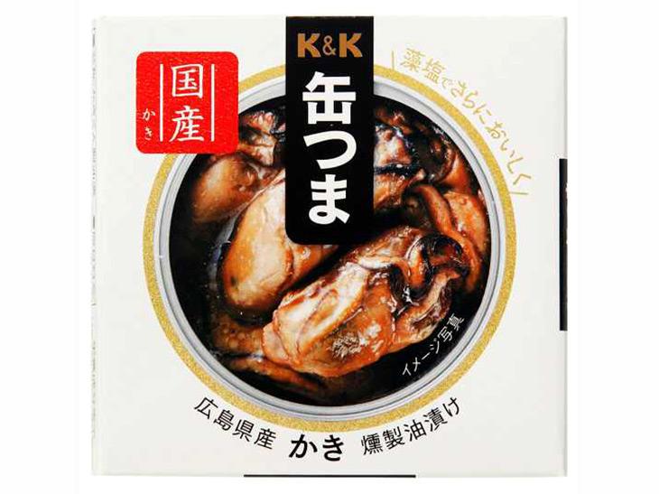 1位:「缶つま 広島県産かき燻製油漬け」
