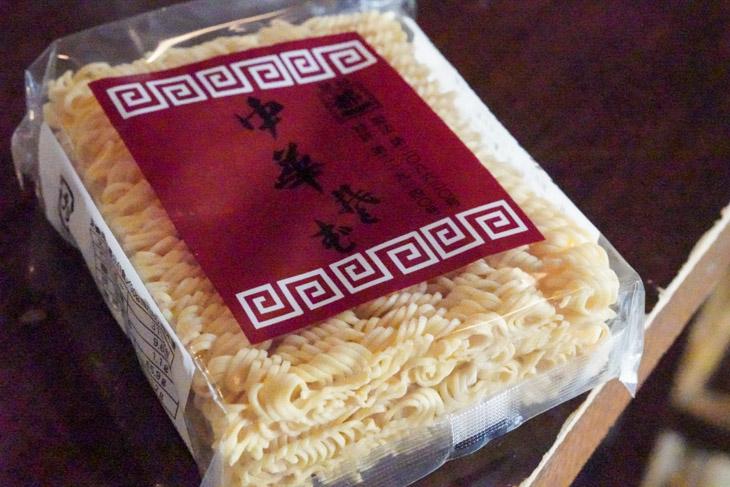 中華乾麺作りの老舗『都一』の「中華そば」を使用