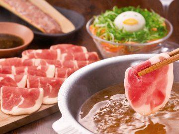 今年も復活! 『しゃぶしゃぶ温野菜』に大人気の「鴨しゃぶ食べ放題」が登場
