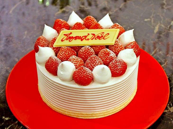 ホテルニューオータニで話題の超高級ケーキが「クリスマスケーキ」に! おふたり様サイズも登場