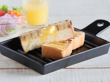 トースター要らず! もちふわの極上トーストが焼き上がる「半生パン焼き陶板」がブームの予感