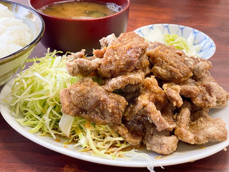 東京最強の定食の一つ「ブタカラ定食」を荻窪『ことぶき食堂』で食べてきた!