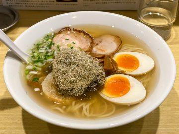 人気ラーメン店の店主も通う! 荻窪『五稜郭』の「函館塩ラーメン」を食べてきた