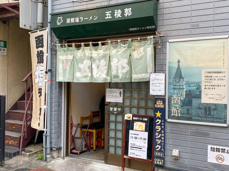 荻窪の教会通り商店街の先にお店はあります